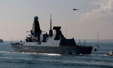 HMS Dauntless sets sail for Falklands amid war of words with Argentina