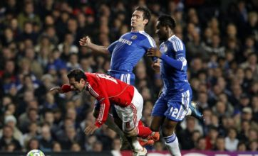 Chelsea seal Benfica fate as Lampard and Meireles settle the score
