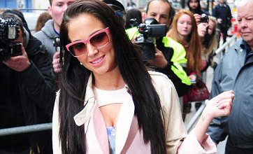 Tulisa is pretty in pink as she ends Radio 1 stint and 'gets mornings back'
