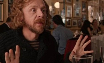 Simon Pegg unveils A Fantastic Fear Of Everything trailer on Twitter