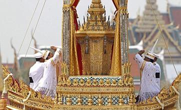 Mourners in Bangkok bid farewell to Princess Bejaratana