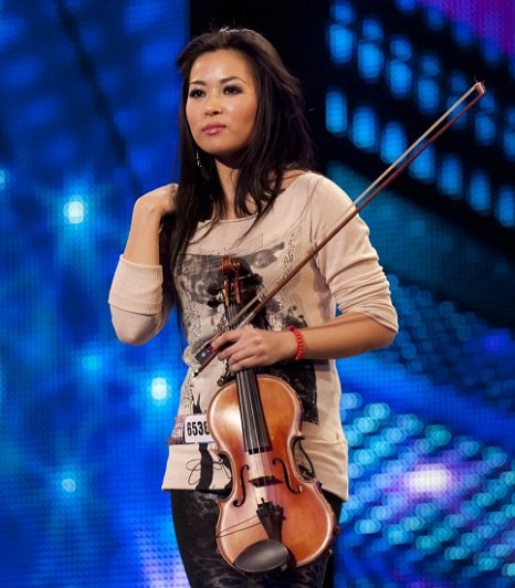 Analiza impressed the BGT judges with her skilled violin playing (Picture: ITV)