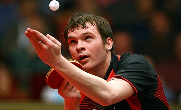 British table tennis men close in on automatic qualification for 2012