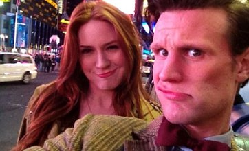 Karen Gillan takes Twitter by storm with New York Matt Smith photo