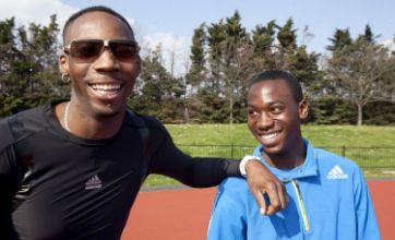 Phillips Idowu tips Jermaine Graham, 13, for future triple-jumping glory