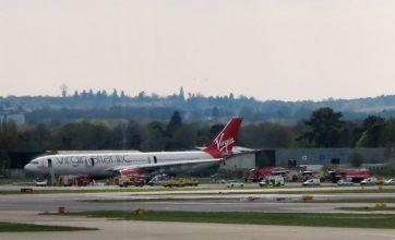 Richard Branson apologises as four hurt in Gatwick emergency landing