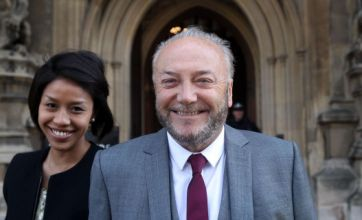 George Galloway shoots from the lip on return to House of Commons