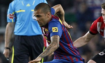 Dani Alves: Chelsea's fear stopped them beating us in 2009 – not the ref