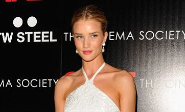 Rosie Huntington-Whiteley steals the show at Safe premiere