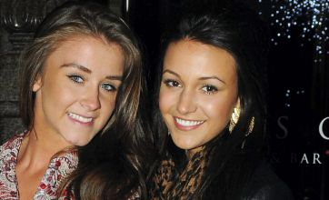 Michelle Keegan forgets Max George engagement woes for girls night out