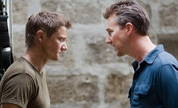First look at Edward Norton opposite Jeremy Renner in The Bourne Legacy