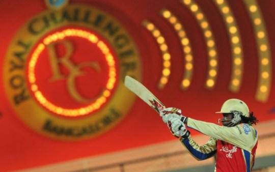 Royal Challengers Bangalore, Chris Gayle, Indian Premier League