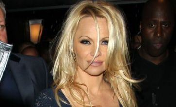 Pamela Anderson lights up Essex with TOWIE's Sam and Billie Faiers