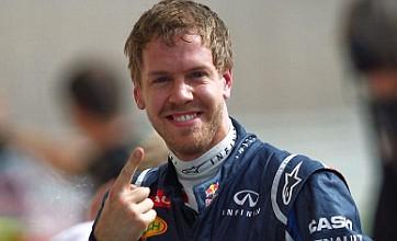 Bahrain Grand Prix: Sebastian Vettel takes pole ahead of Lewis Hamilton