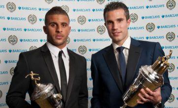 Robin van Persie scoops PFA Player of the Year award