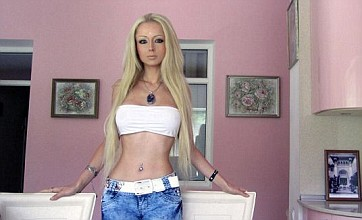 'Human Barbie' Valeria Lukyanova 'going to live on air and light only'