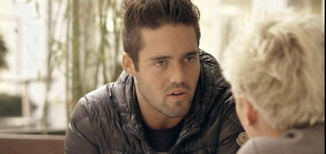 Jamie confronts Spencer in Made In Chelsea (Picture: E4)