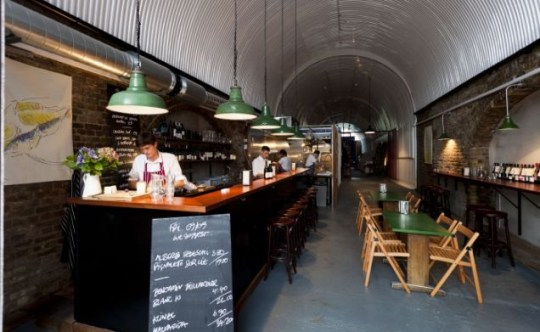 40 Maltby Street, review, restaurant