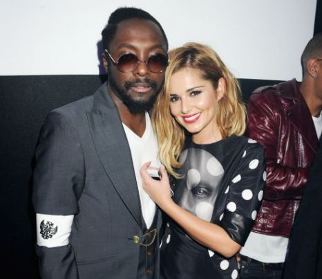 Cheryl Cole Supporting Will I Am With Home Cooking And Plenty Of Advice Metro News