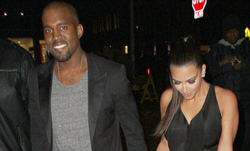 Kim Kardashian steps out hand in hand with new beau Kanye West