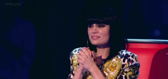 Jessie J was in tears as she made her The Voice UK judging decisions (Picture: BBC)