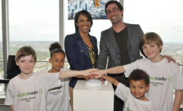 Dame Kelly Holmes launches digital-only radio station as switchover nears