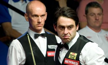 Ronnie O'Sullivan 'better mentally' after win over emotional Peter Ebdon