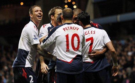 David Ngog Aston Villa vs Bolton