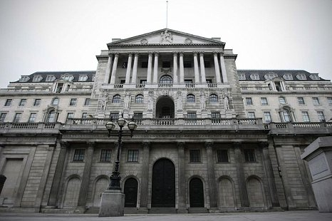 Bank of England recession clouds