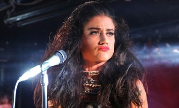 X Factor reject Katie Waissel returns to music with rock band Red Velvet