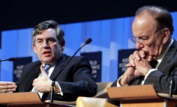 Gordon Brown refutes Rupert Murdoch's Leveson Inquiry evidence