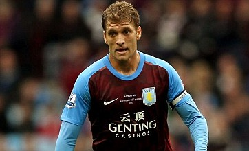 Aston Villa fans show support for Stiliyan Petrov with 'Petrov Pie'
