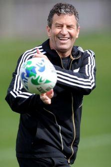 New Zealand All Black assistant coach Wayne Smith