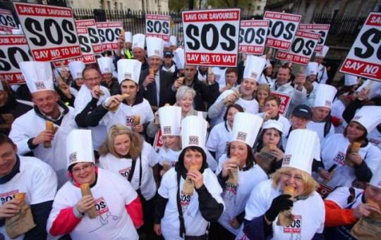 Downing Street, pasty tax, SOS