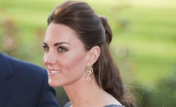 Kate Middleton is graceful in grey as she continues run of public outings