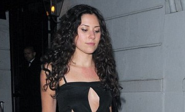 Eliza Doolittle lets it all hang out as she parties at restaurant launch