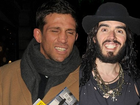 Alex Reid and Russell Brand