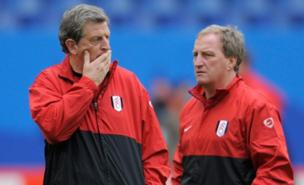 Roy Hodgson and Ray Lewington worked together at Fulham (Getty Images)