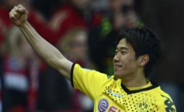 Sir Alex Ferguson watches transfer target Shinji Kagawa in cup final