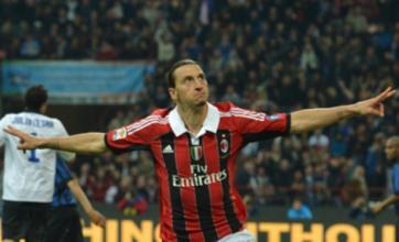 Zlatan Ibrahimovic not a Manchester City transfer target, claim AC Milan
