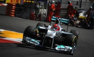 Mark Webber takes Monaco Grand Prix pole after Michael Schumacher's penalty