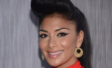 Nicole Scherzinger holds up The X Factor auditions for an hour