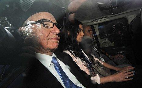 News International chairman Rupert Murdoch
