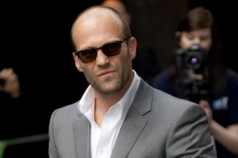 Jason Statham arrives for the European premiere of Safe in London (Picture: AP)