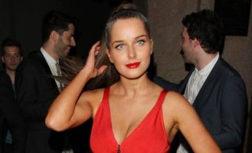 Helen Flanagan wows in red dress but only just makes FHM Top 50 list