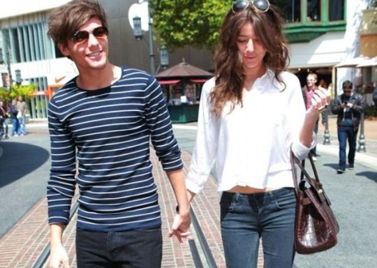 Louis Tomlinson spends time with his girlfriend Eleanor Calder