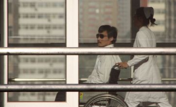 Chen Guangcheng says he wants to leave China after threats made against his wife