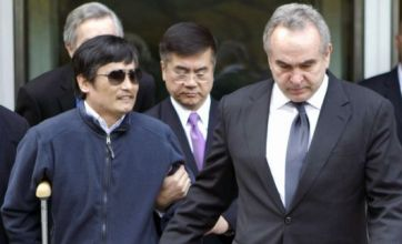 US confirms blind activist Chen Guangcheng wants to leave China