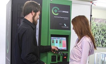 'Hashpoint' dispenser allows users to pick up cannabis 24 hours a day
