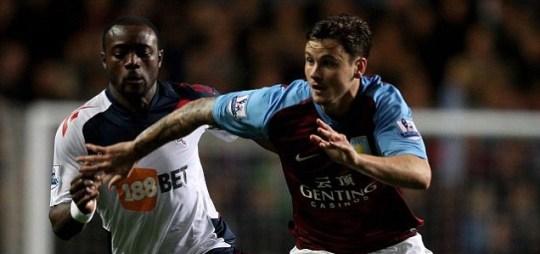 Chris Herd of Aston Villa